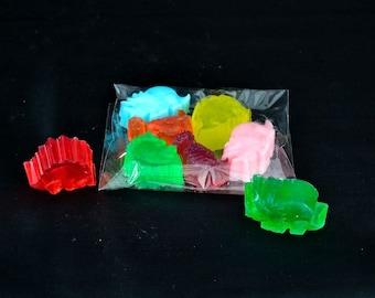 Childrens Dinosaur Soap in a Fruit Fragrance, Soap for Sensitive Skin, Children's Soap