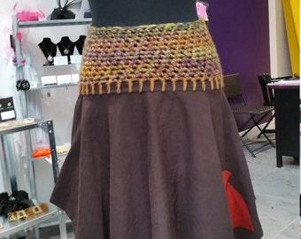 Bohemian, hippy,skirt