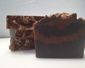 Rustic Frankincense and myrrh soap