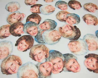The Golden Girls Golden Girls - Golden Girls Confetti- Dorothy- Blanche- Rose- Sophia- Golden Girls Party- Birthday Party- Reunion