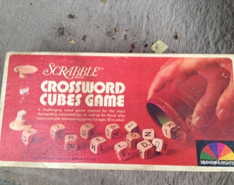 Scrabble Game in original box