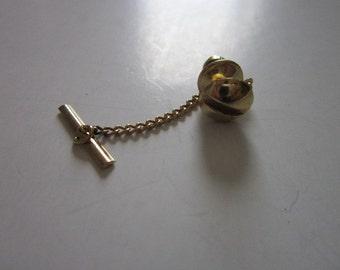 Vintage Hardware Screw Mens Tie Clasp Tie Tack
