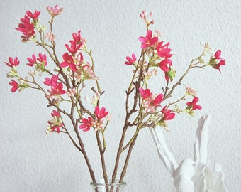 Cherry blossom | Artificial flower branch | flower branch | Artificial flower | floral Art | eternal flowers l Pink Heptacodium