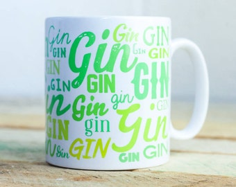 Lots of Gin coffee/tea mug