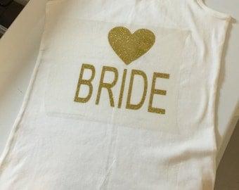 Bride Tank Tee