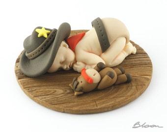 Cowboy Cake Decorations   Fondant Baby   Cake Topper Baby   Cake Topper Fondant   Fondant Figures   Baby Fondant   Cake Topper Birthday