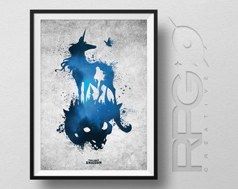 The Last Unicorn : Animated Icons Print