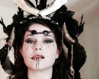Dark Goddess Headdress