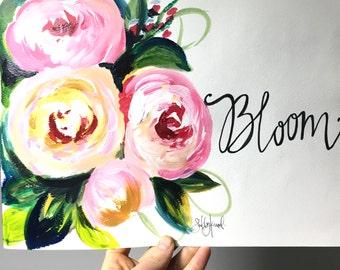 Bloom print 9x12