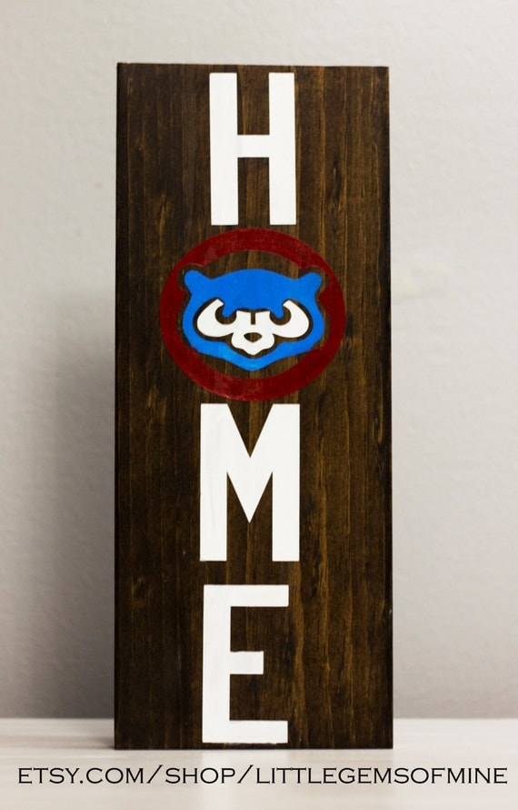 chicago cubs decor home decor sports decor gifts for
