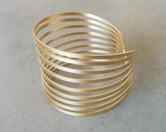 Gold Cuff Bracelet, Gold Bracelet, Cuff Bracelet, Gold Cuff, Bangle Bracelet, Wedding Jewelry, Bridal Bracelet, Wide Cuff Bracelet, Cuff