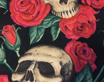 Alexander Henry's cotton print resting in roses