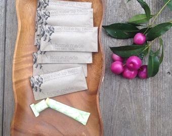 organic eco lip balm