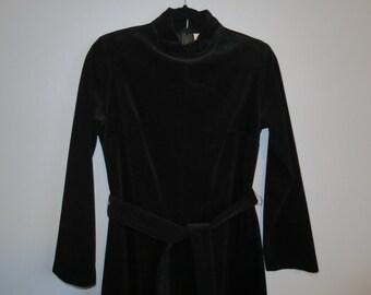 1960s Velvet Jumpsuit