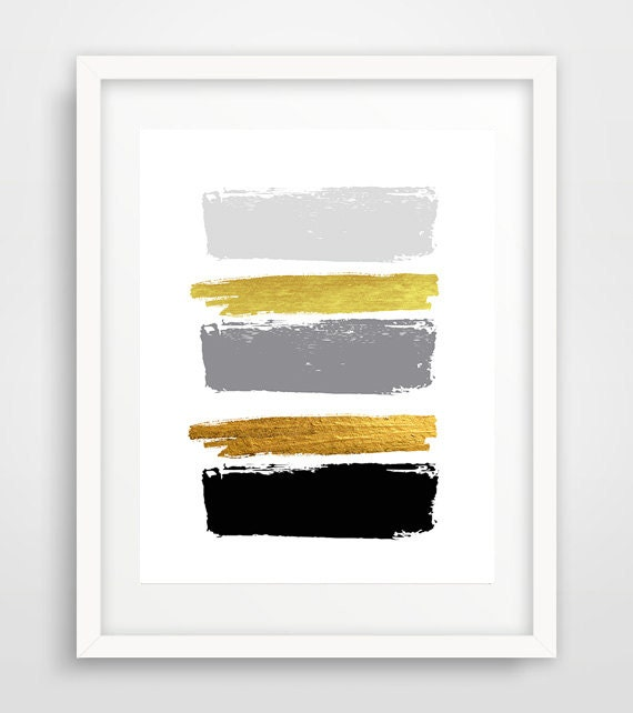 modern wall art paint brushes cheap art prints cool