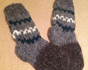 Wool socks for boy