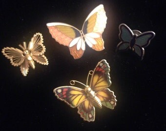 Butterfly Brooch Collection