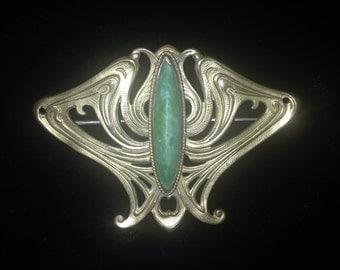 Art Nouveau Pendant/Brooch