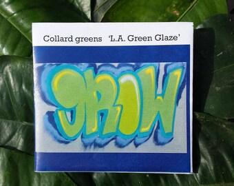 """Collard greens """"L.A. Green Glaze"""", Vegetable seeds"""