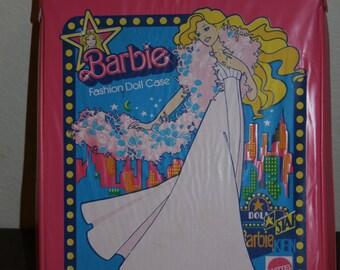 1977 Mattel Pink Barbie Fashion Doll Case