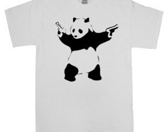 Banksy Panda Shirt *Free Shipping*