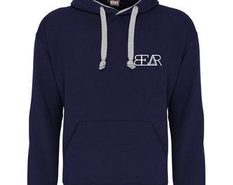 Bear Essentials Navy Blue/White Hoodie