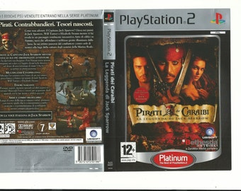 play station 2 game Pirates of the Caribbean the legend of jack sparrow