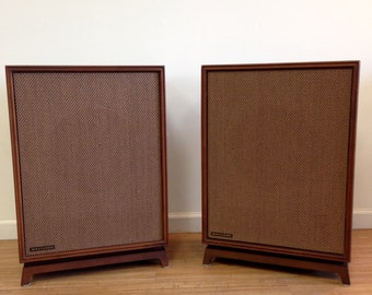 Mid Century Audio Speakers