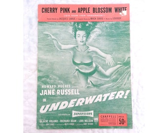 """Cherry Pink And Apple Blossom White, From The Movie """"Underwater"""" With Jane Russell, A Howard Hughes Production."""
