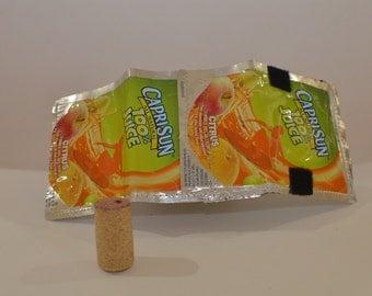 Recycled 'Capri Sun 100% Juice Citrus' Wallet