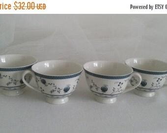 Royal Doulton Cambridge Blue TC 1017 Fine China Tea Cups//Fine China Tea Cups//Royal Doulton Tea Cups