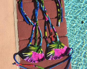 Three Strap Bikini Top