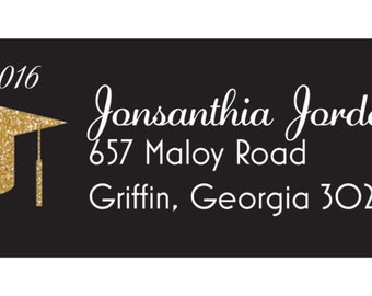 Personalize return address labels