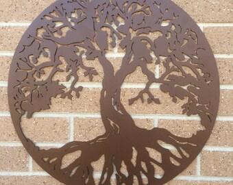 Tree of Life - Metal Art - Unique Gift - Wall Art - Modern Art - Custom Art