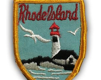 Rhode Island Patch - Lighthouse