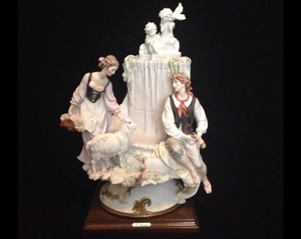 """FREE SHIPPING-Fabulous-Made In Italy-Giuseppe Armani-55637-The Rest-15"""" X 10""""-Sculpture"""