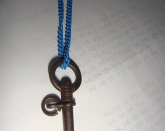 Steampunk key and chain