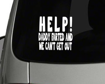 Funny Car Decals Etsy