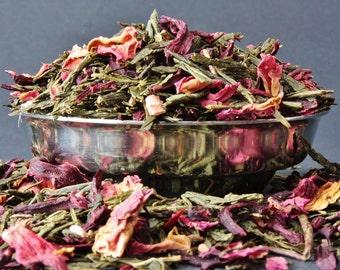 Cherry Rhubarb Green Tea - Loose Leaf Tea - Tea - Tea Gift - Green Tea