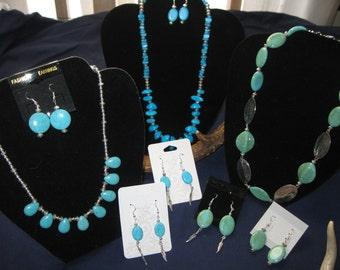 Turquios necklace sets