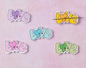 Needleminder / needle keeper / needle knack for cross stitch / embroidery / needlework / xstitch / LOVE