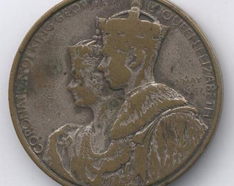 George VI Coronation Medal 1937 Commem Your Association With His Masters Voice