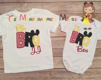 Big/lil Bro/sis mouse shirt