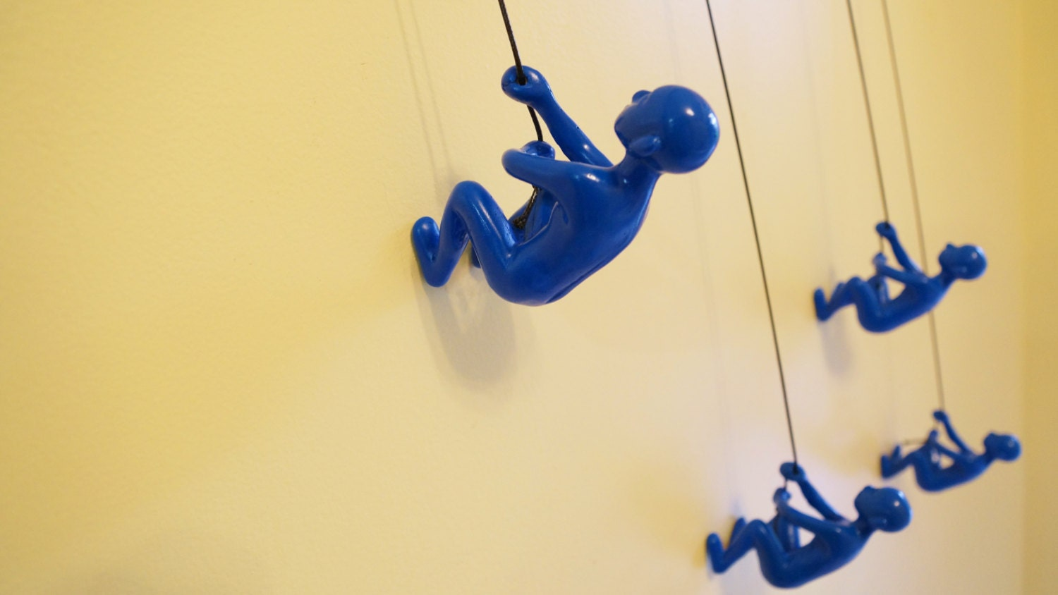 Climbing Man Hanging Wall Piece Of Art By ELADITEMS C Solid, Durable ...