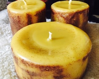 100% Pure Beeswax Spell Candle Set