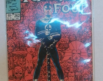1984 The Fantastic Four #262  The Trial Of Reed Richards  Origin Of Galactus VG-VF Vintage Marvel Comic Book