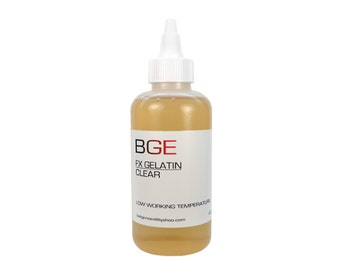 BGE Clear Special FX Gelatin for cuts, lacerations and injuries