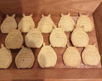 Totoro Cookie Cutter Biscuit Mold Fondant Mold Japanese Anime Cookie Miyazaki My Neighbor Totoro