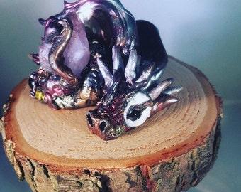 Dragon ooak sculpt rainbow chaser