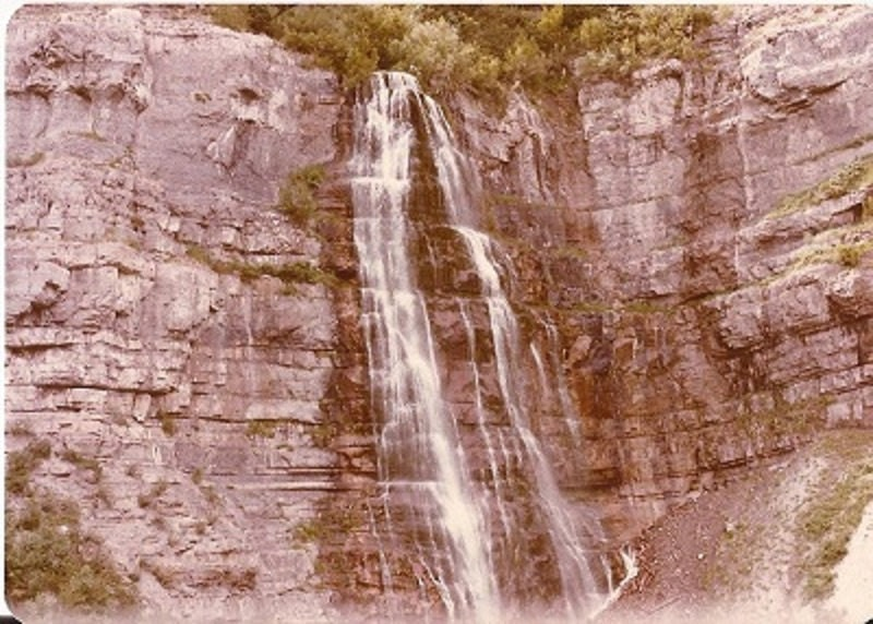 Counted cross stitch pattern downloadable pattern for Waterfall design etsy